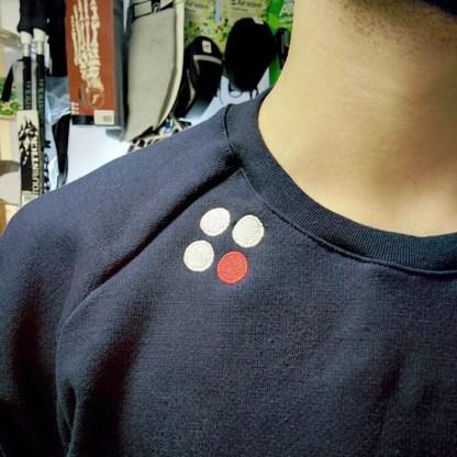 Popcorn Minimal ID Logo Sweater