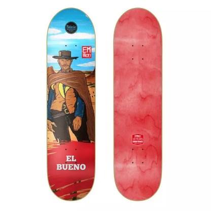 "EMillion ""El Bueno"" 8.0"" Skateboard Deck"