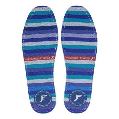 Footprint Flat Insoles Stripes 5mm