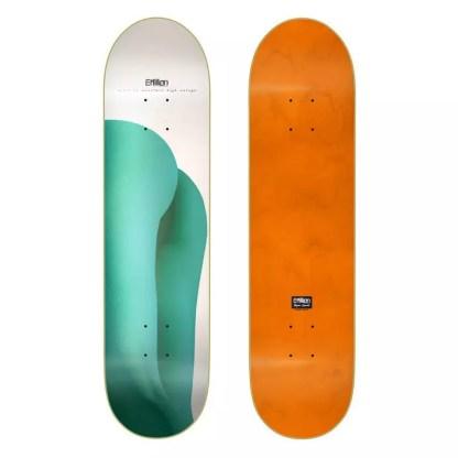 "EMillion Ain´t No Mountain Mint 8.0"" Skateboard Deck"