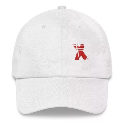 XMKD ID Logo Unstructured 6-Panel Cap