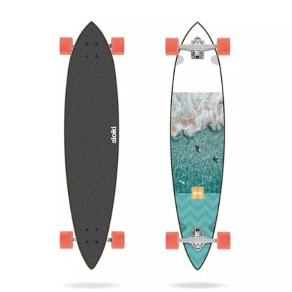 "Aloiki Aerial 40"" Pintail Complete Longboard"