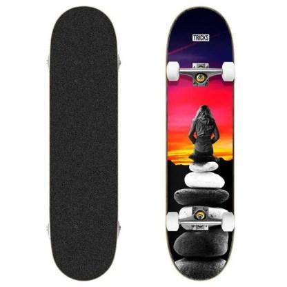 """Tricks Landscape 8.0"""" Complete Skateboard"""