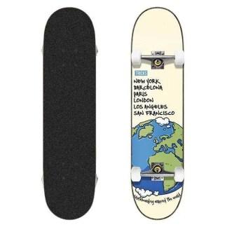 "Tricks World 8.0"" Complete Skateboard"