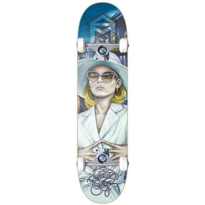 """Sk8Mafia Larelle Gray """"Face"""" 8.3"""" Skateboard Complete"""