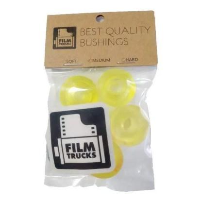 Film Trucks Bushings Medium Transparent Yellow
