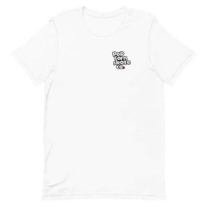 Popcorn Classic Logo T-Shirt White
