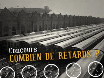 Concours Retards SNCF