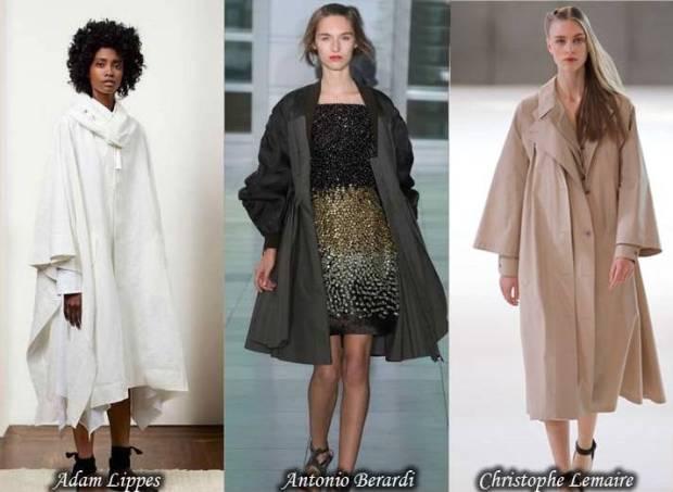 Trenci stilat pentru femei cu croiala libera primavara 2015