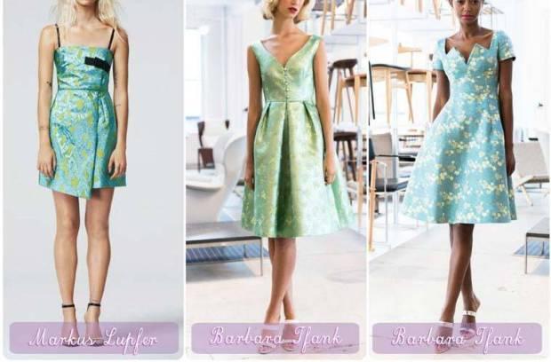 Rochii de coctail in nuante de smarald pentru Anul Nou 2015