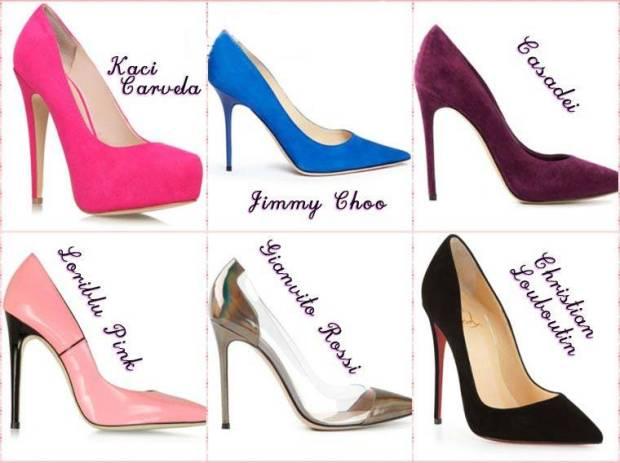 Pantofi stiletto primavara 2015