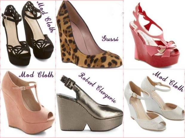 Pantofi cu platforma primavara 2015