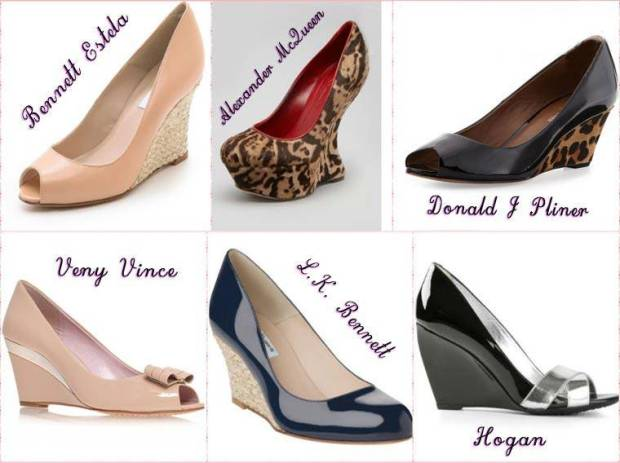 Pantofi dama in voga platforma primavara 2015