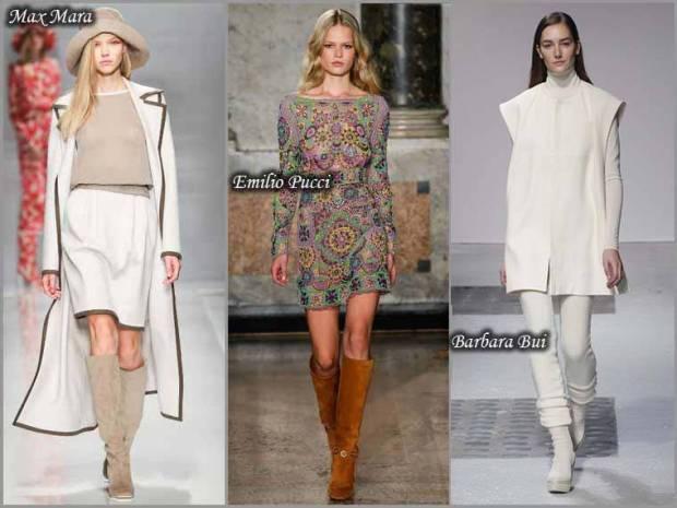 Cizme din piele intoarsa la moda primavara 2015
