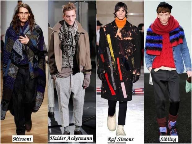 Stil vestimentar boem barbati iarna 2015
