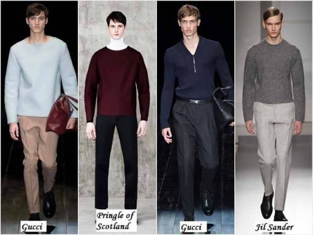 Linii simple haine barbati iarna 2015
