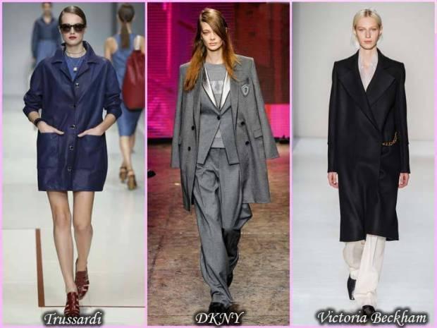 Palton stil masculin primavara 2015