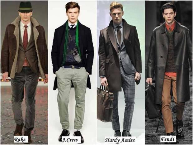 Stil casual barbati iarna 2015