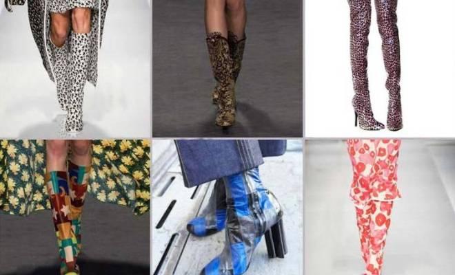 Cizme la moda primavara 2015