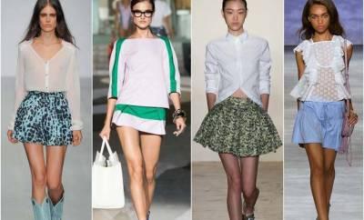Fuste la moda sezon primavara 2015