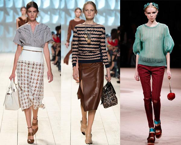 Modele de bluze in dungi