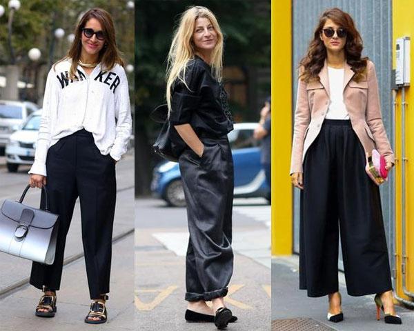 Pantaloni largi la Milano