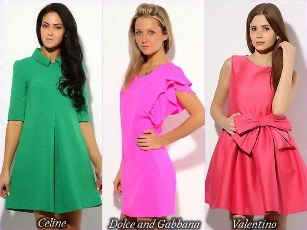 Diversitate de culori rochii scurte pentru balul de absolvire 2015