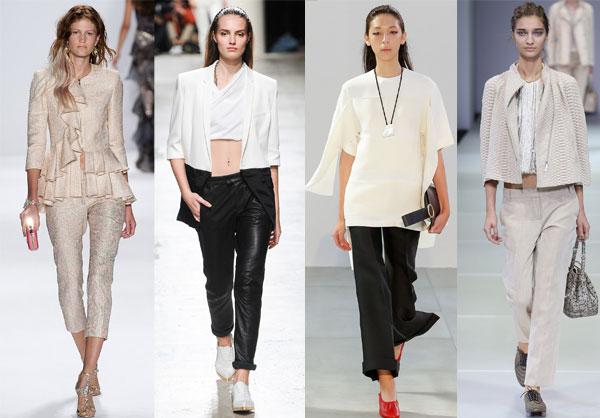 Pantaloni capri la moda 2015