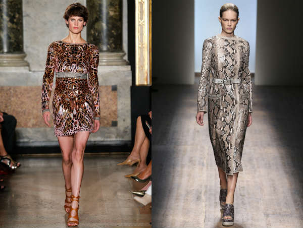 Modele rochii cu animal print