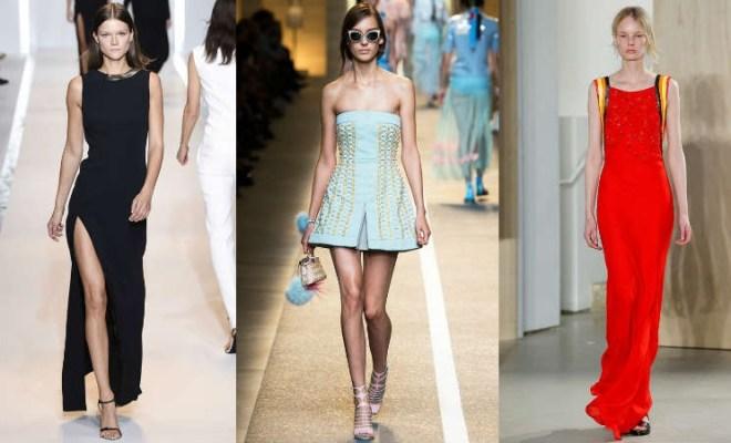 Modele de rochii elegante 2015: primavara-vara