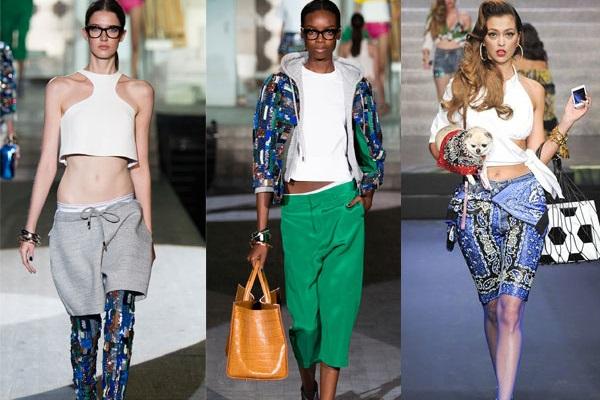 Pantaloni scurti la moda primavara-vara 2015