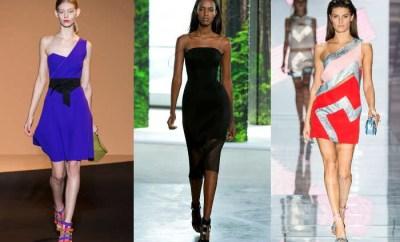 Rochii de seara cocktail la moda primavara-vara 2015