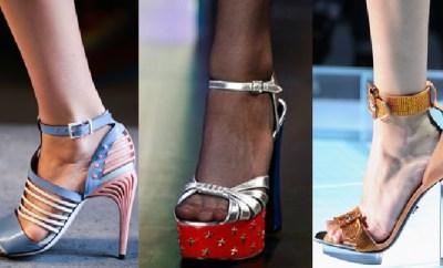 Sandale dama la moda primavara-vara 2015