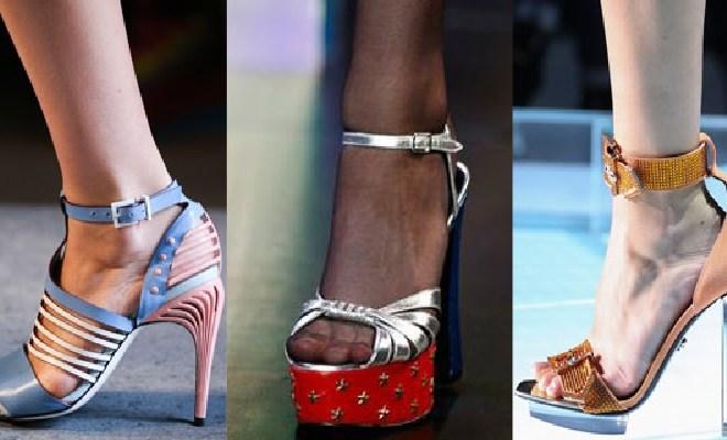 Sandale la moda primavara-vara 2015
