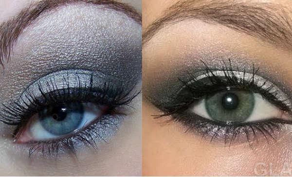Farduri pentru ochi de culoare gri