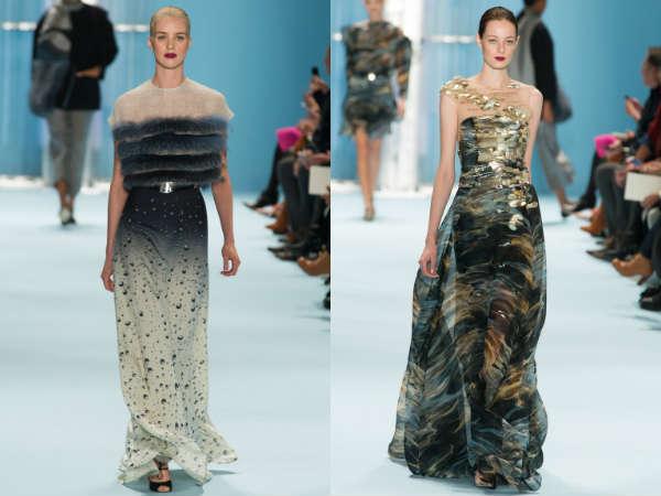 Carolina Herrera la saptamana modei de la New York