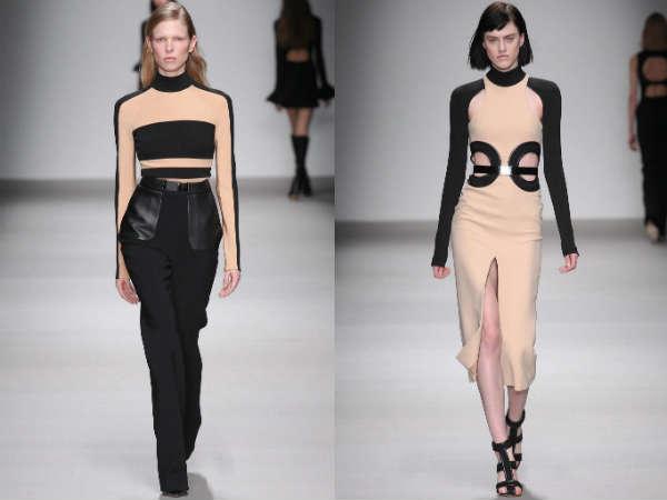 Colectia David Koma la saptamana modei de la Londra