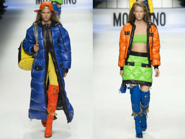 Moschino la saptamana modei de la Milano 2015-2016