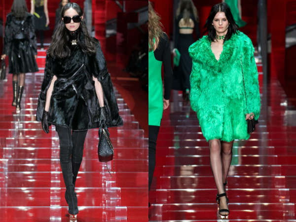 Versace saptamana modei de la Milano