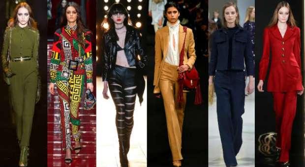 Pantaloni dama eleganti toamna iarna 2015 2016