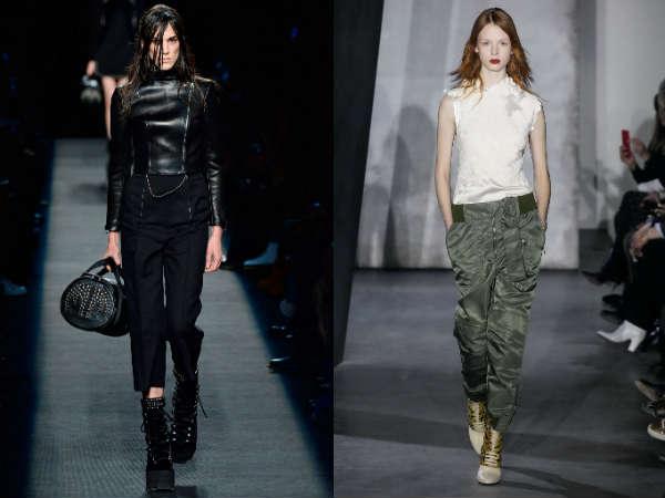 Pantaloni de iarna la moda