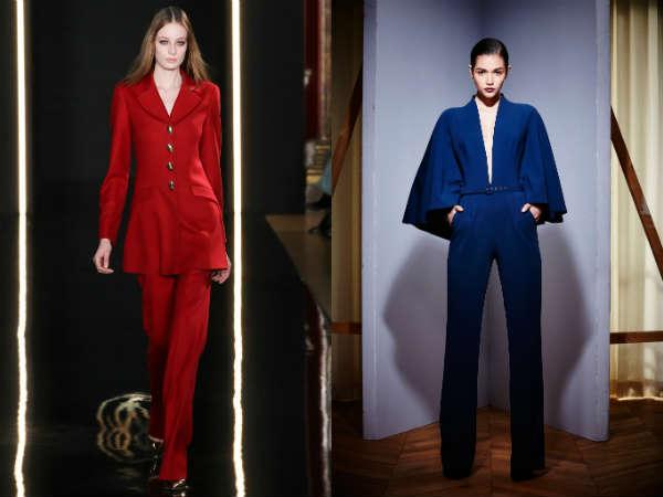 Pantaloni rosii si albastri