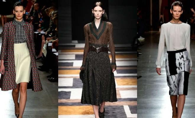 Fuste la moda toamna-iarna 2015-2016