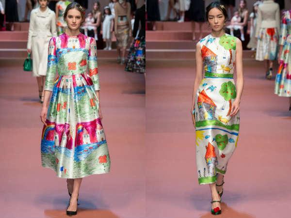 rochi lungi cu imprimeuri