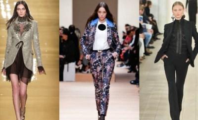 Sacouri dama la moda toamna-iarna 2015-2016