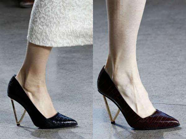 Pantofi Jason Wu cu toc subtire