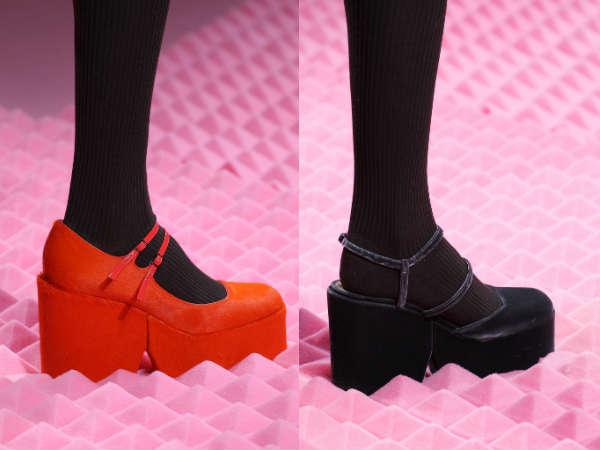 Pantofi dama la moda toamna iarna 2015 2016 toc si talpa groasa