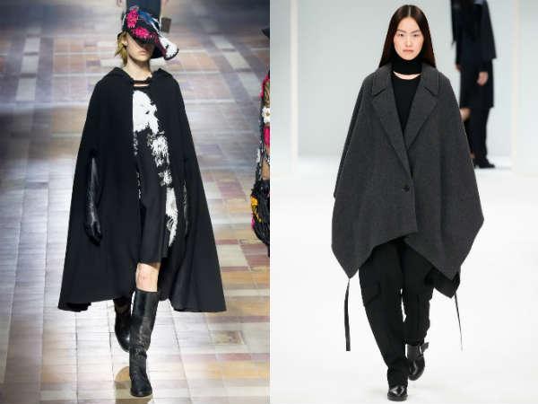 Pelerine tricotate la moda