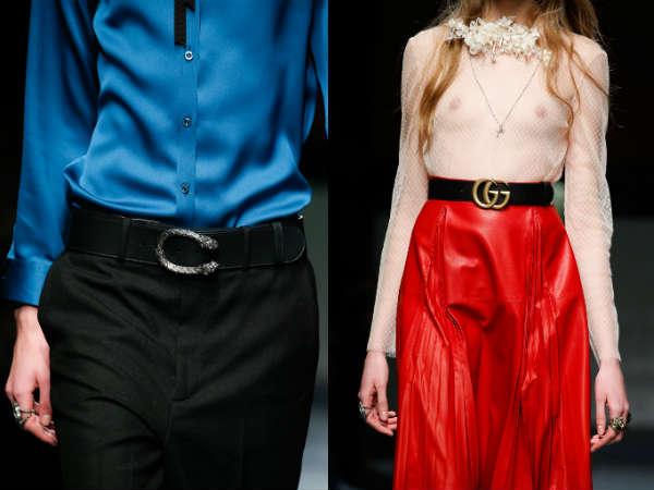 Accesorii la moda toamna-iarna 2015-2016: Curele