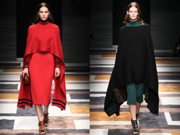 Tendinte moda toamna iarna 2015 2016 pelerine